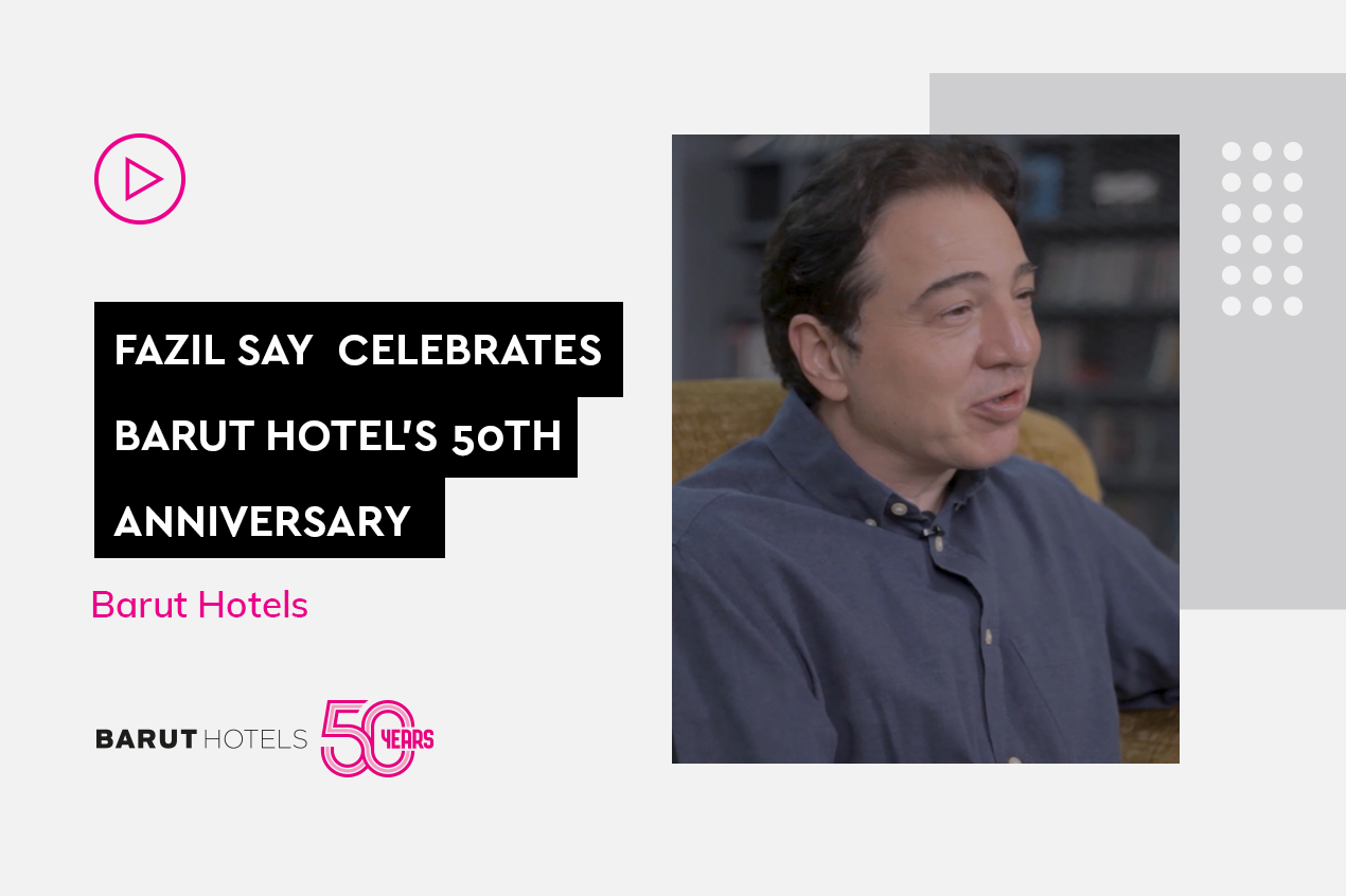 50th Anniversary interview with world-famous pianist and composer Fazıl Say